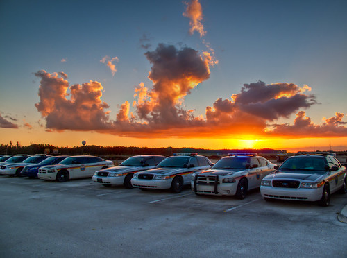 sunset sky color cars clouds canon photography florida police powershot everglades hdr highdynamicrange 2010 miccosukee g10