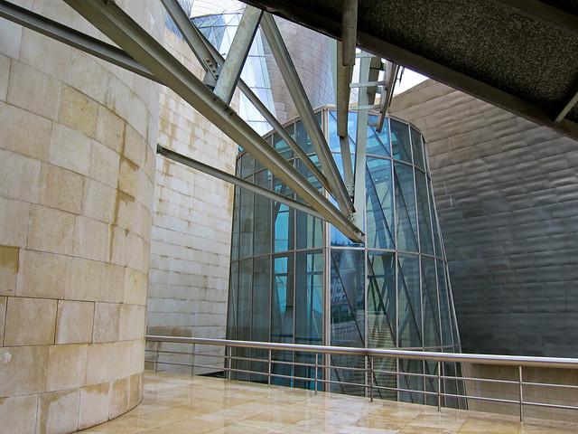 Entry, Guggenheim in Bilbao