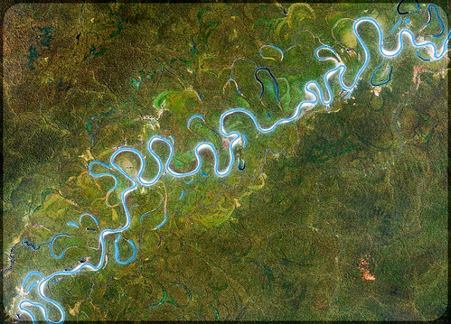 Google Earth Detail  - Amazon Basin