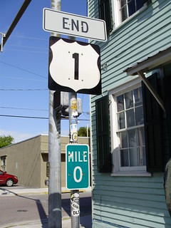 End of US 1, Key West, FL   by 333 (only half evil)