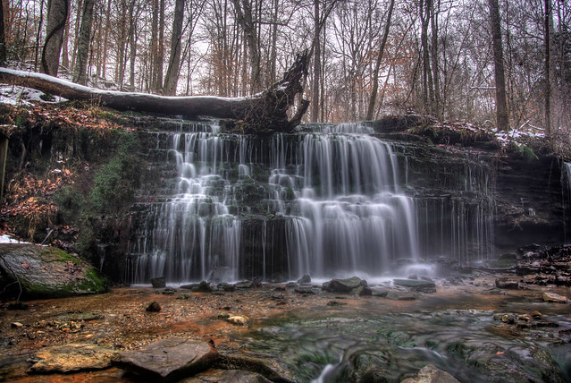 City Lake Falls, Putnam County, Tennessee 3