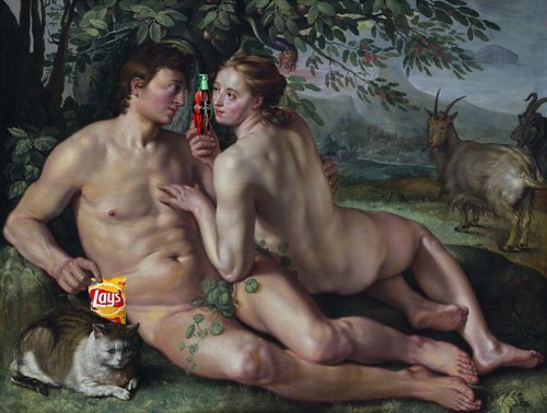 The Fall of Man, after Hendrick Goltzius