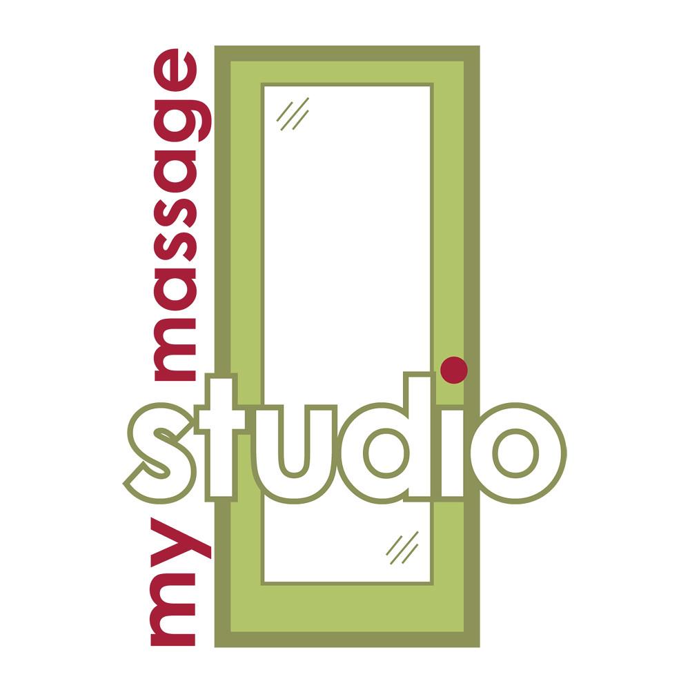 My Massage Studio Logo Design by Oh Geez! Design   Logo ...