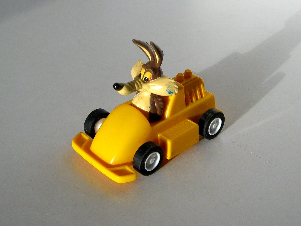 Apollo Toys - 'Pull Back and Let Go' Wile E  Coyote Racing… | Flickr