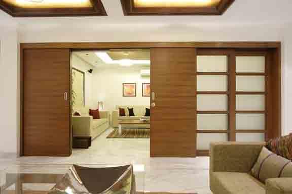 Living Room Design Ideas Sliding Doors by Mahesh Punjabi A ...