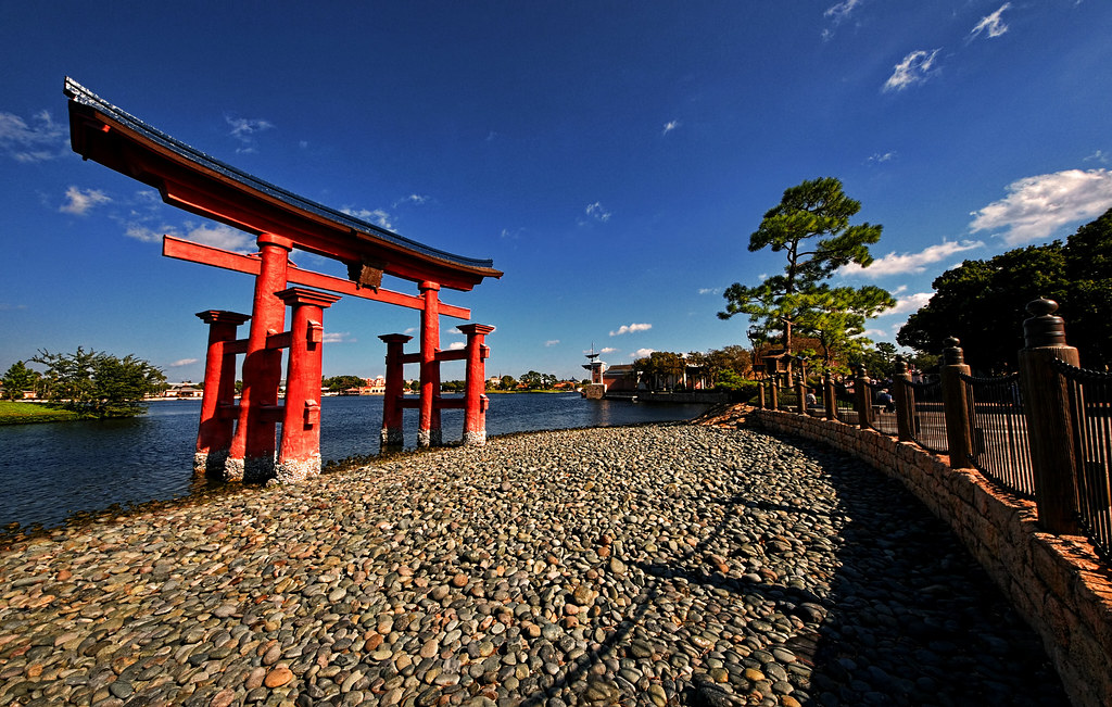 Epcot Torii Gate - Thinking Outside the Gate