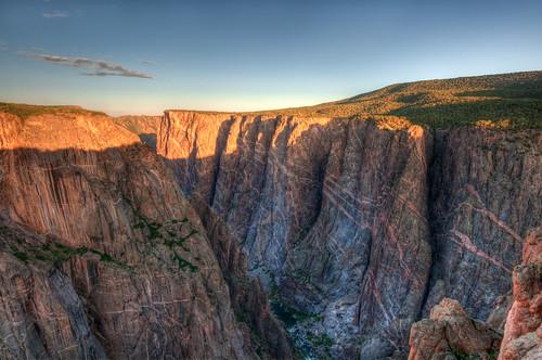 sunrise nationalpark colorado co hdr blackcanyonofthegunnison