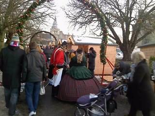 Dickensian Festival Rochester Castle Kent