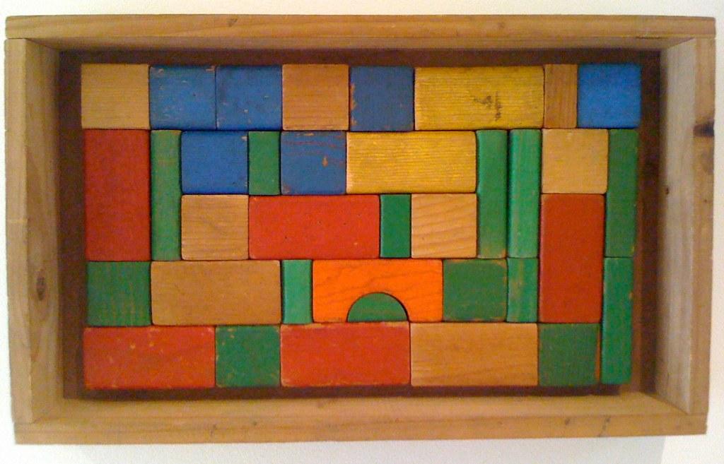 Playskool Wooden Blocks Blocks Dec 2010 Vintage Playskoo Flickr