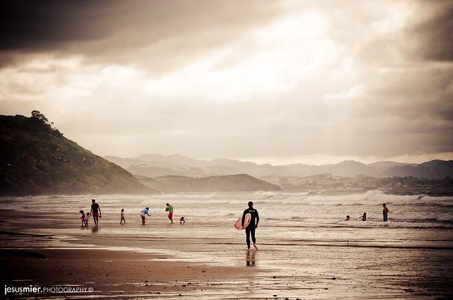Playa de Vega, Asturias.