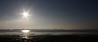 Portsmouth from a far | by Hexagoneye Photography