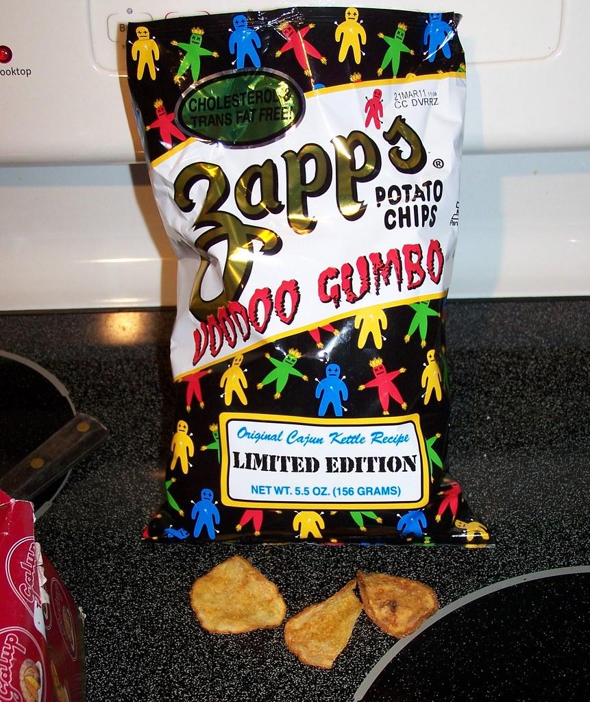 Amazing World Of Gumbo: Zapp's Voodoo Gumbo Potato Chips