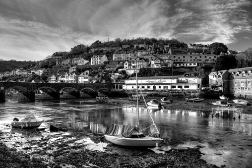 Seeing Looe in Black and White | by rosiespoonerphotos
