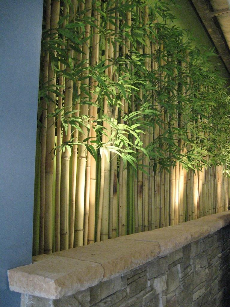 Artificial Bamboo Wall