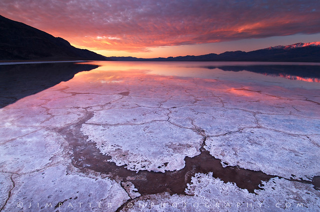 Dawn of a New Day - Badwater Basin, Death Valley National Park, California