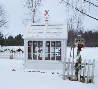 Winter Garden Shed