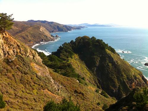 View from Muir Beach Overlook   by jdeeringdavis