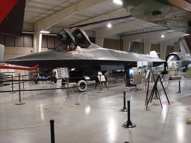 Hill Aerospace Museum - SR-71 Blackbird