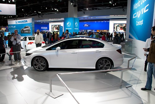 2012 Honda Civic Sedan ConceptNAIAS 2011 - Detroit, Michigan-127 Photo