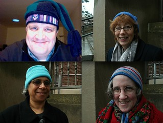 Blue Beanie Day - Our University of Michigan Crew