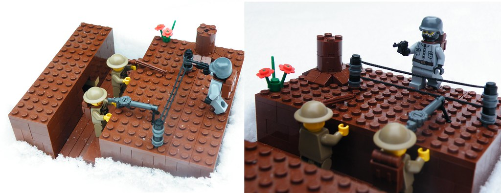 LEGO WW1 Trench 1918 | My entry to the LEGO WW1 group contes