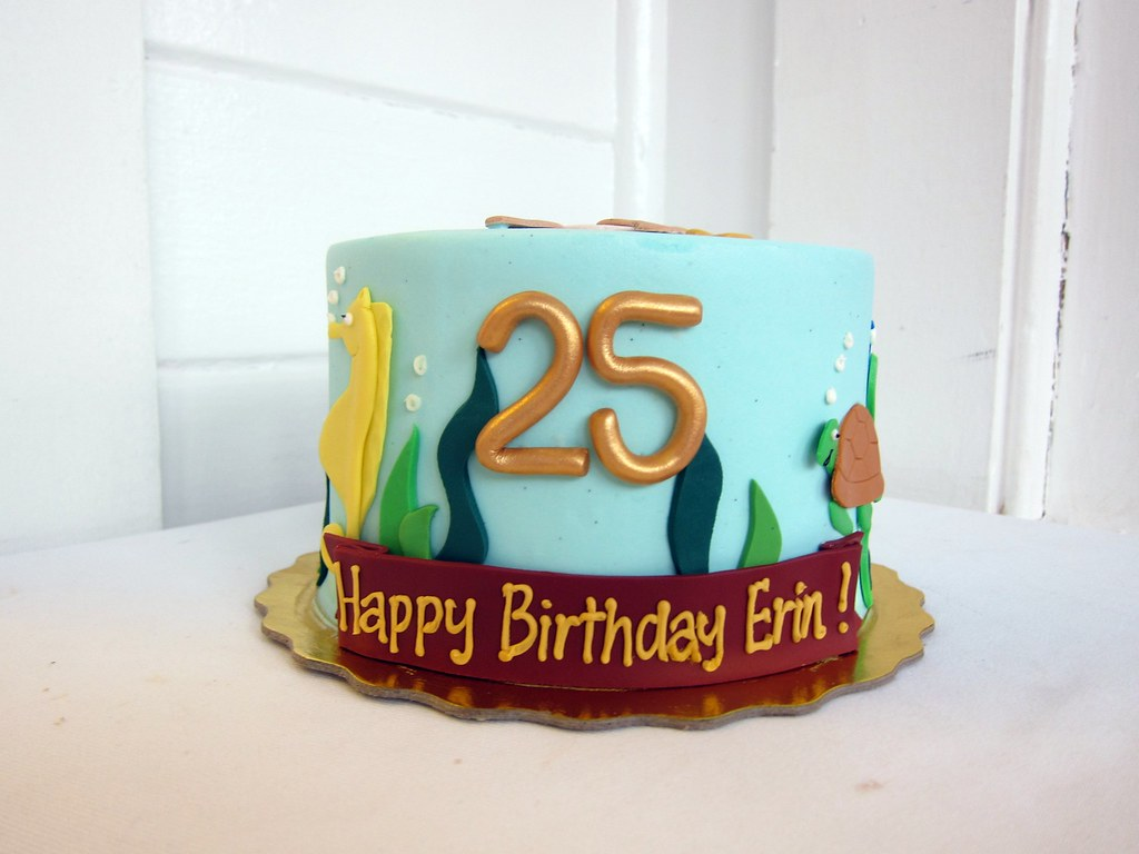 Super Sea Otter Harry Potter Birthday Cake Polkadots Olga Flickr Funny Birthday Cards Online Elaedamsfinfo