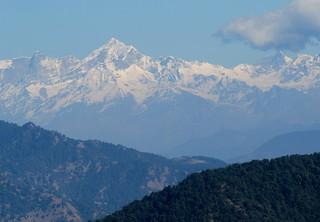 Garhwal Himal from Sisters Bazaar | by paulhami