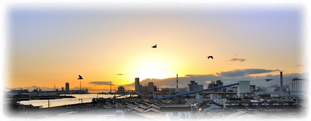Osaka, my hometown by arapy
