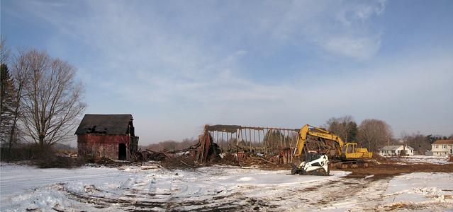 Wallingford barn - the final indignity