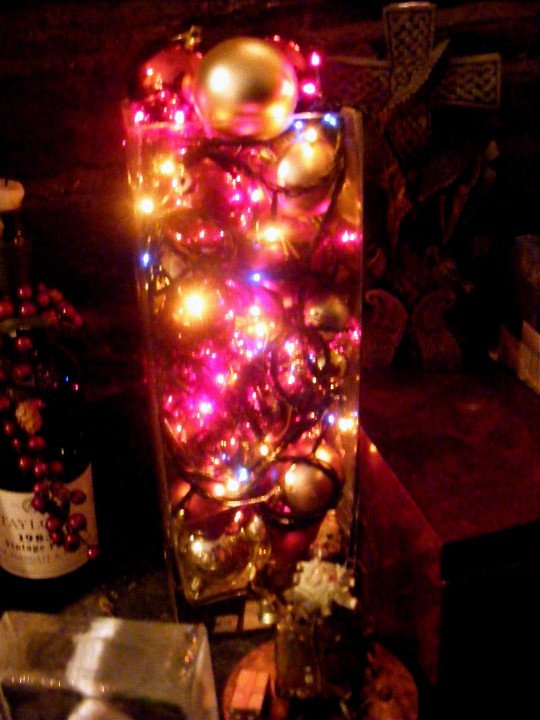 Baubles and lights