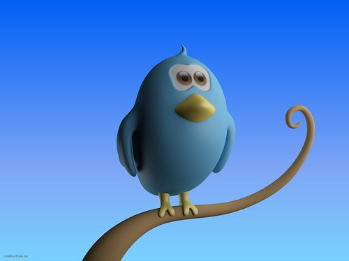 CreativeTools.se - Twitter bird standing on branch - Close-up | by Creative Tools