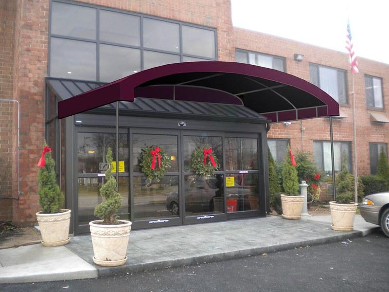Unique Entrance Canopy