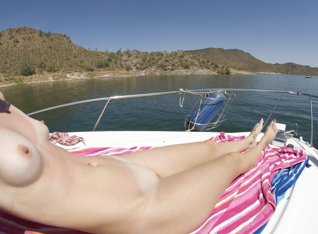 nude-sunbathing-on-boat