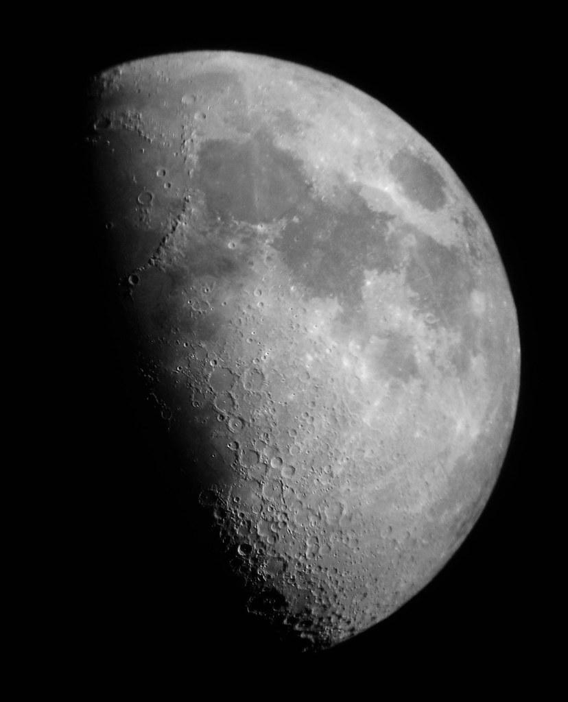 Luna Primer Cuarto o Cuarto Creciente | astrofotograncanaria ...