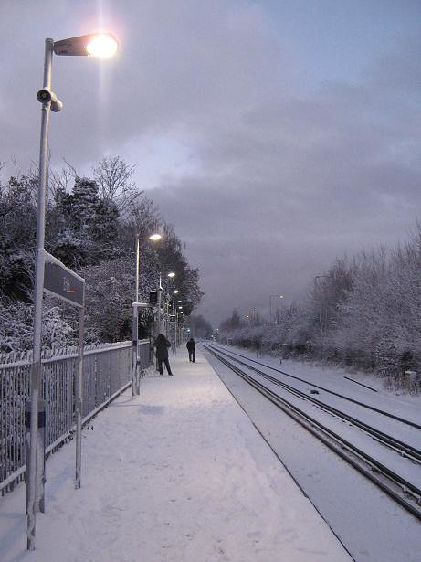 Waiting for a Train...