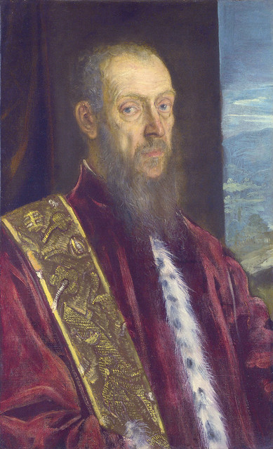 Jacopo Tintoretto: Portrait of Vincenzo Morosini (1575-80)