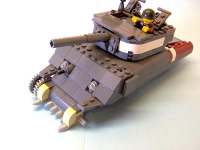 Sherman Tank W.I.P. For Papa Ewok.