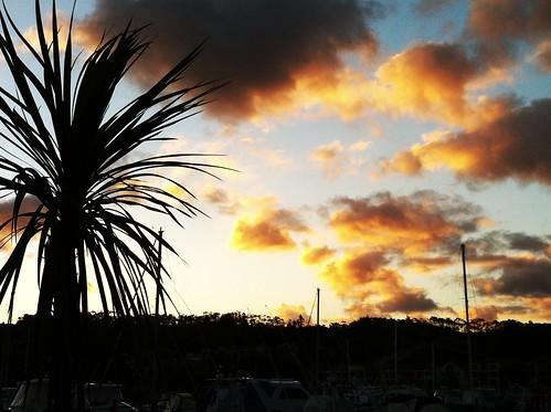 sunset newzealand tutukaka iphonephoto
