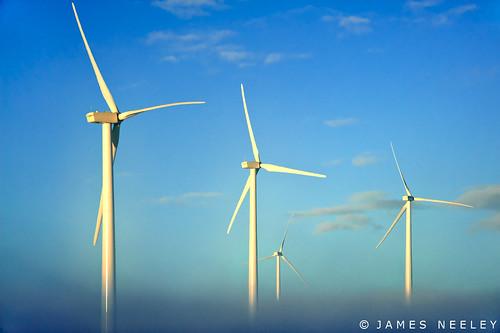 winter landscape idaho windpower windturbines jamesneeley windgererators
