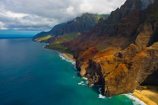 Na Pali Coast, Kauai, Hawaii   by howardignatius