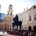 Santiago de Chile, Plaza de Armas se sochou Pedra de Valdiviy, foto: Petr Nejedlý
