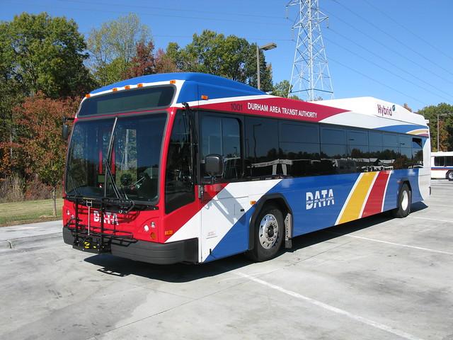 Gillig BRT Hybrid, DATA, Durham NC