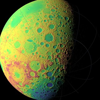 NASA's LRO Creating Unprecedented Topographic Map of Moon | by NASA Goddard Photo and Video
