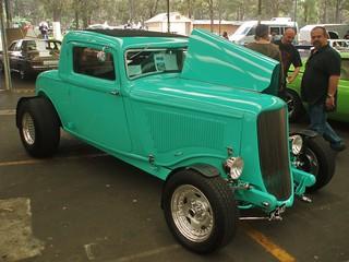 1934 Dodge 3 window coupe hot rod