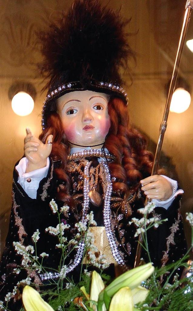 Niño Dios Jesús Vestido De Alcalde Detalle De La Imagen Q
