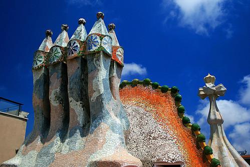 Casa Batlló - Chaminés | by Valdiney Pimenta