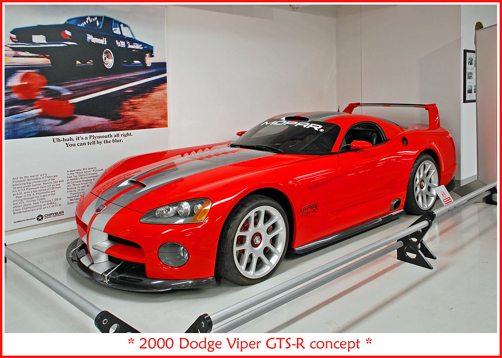 2000 Dodge Viper Gts R Visit To The Walter P Chrysler Mus Flickr