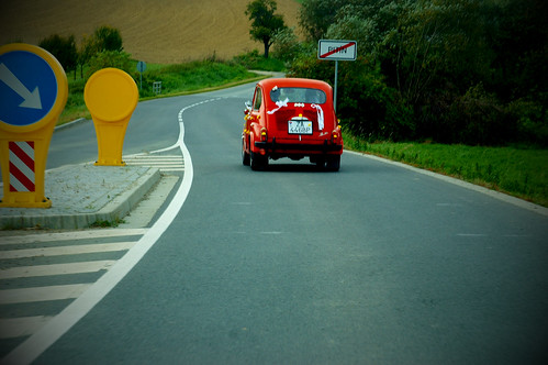 fiat 500 depart from Pitin