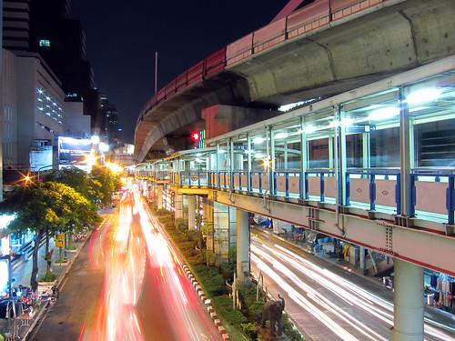 Silom Road - Bangkok | by DeeMakMak