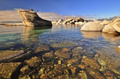 Bonsai Rock Area, East Shore, Lake Tahoe, NV | by SteveD.